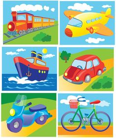 Preschool Learning Activities, Alphabet Activities, Toddler Activities, Preschool Activities, Kids Learning, Transportation Activities, Teaching Aids, Drawing For Kids, Kids Education