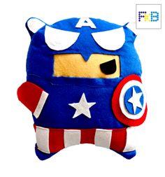 handmade captain america pillow #frikibeads #pillow #cojin #almohada #captainamerica #capitanamerica #marvel