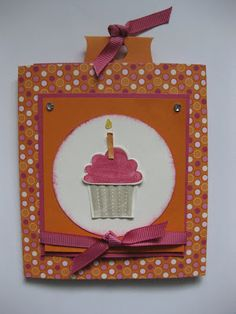 The Stamping Adventures of Heather and Ana: Happy Birthday Triple Slider Card