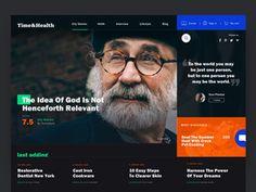 Online Magazine Concept