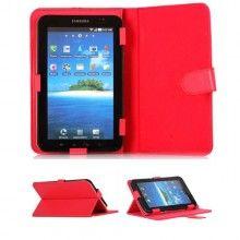 Funda Tablet 7 Pulgadas - Estuche Rojo