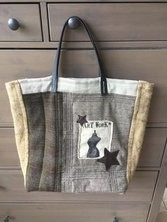 Burlap, Creations, Reusable Tote Bags, Artwork, Work Of Art, Hessian Fabric, Auguste Rodin Artwork, Artworks, Illustrators