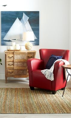 Our Oxford Leather Chair sports a space-friendly design with supportive cushioning.