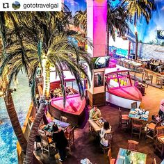 Credit to @gototravelgal  The last stop on our #springbreak vacation: @margaritaville_hollywood_beach - a great place to stay when flying into #fll from Grand Cayman! I love the #margaritaville resorts - great theming! This one had 8 restaurants surfing simulator several pools wide beach and sits on the Hollywood #broadwalk.  #destinationparadise  If you think your post shows the unique yet eclectic style of Hollywood please tag @hollywoodtapfl in your post!     #HollywoodTapFL #HollywoodFL…