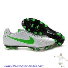 online store 5ec7d f3ef1 Cheap Nike Tiempo Legend IV Elite FG White Green For Sale Cheap Soccer  Cleats, Nike