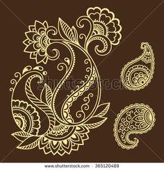 Set of Mehndi flower pattern for Henna drawing and tattoo. Decoration in ethnic oriental, Indian style. Rangoli Patterns, Rangoli Designs Diwali, Flor Henna, Hena, Mehndi Flower, Aluminum Foil Art, Beautiful Flower Drawings, Zentangle, Black And White Doodle
