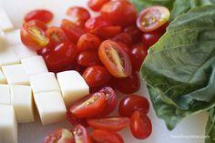 Creamy caprese pasta I Heart Nap Time   I Heart Nap Time - Easy recipes, DIY crafts, Homemaking