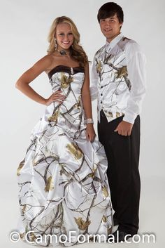 Mossy Oak New Breakup Attire Camouflage Prom Wedding Homecoming Formals