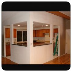 Kitchen Pass Through I Want Something Like This But