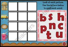 A-Teacher-in-Paradise Shop - | Teachers Notebook - Let's Make CVC Words - Interactive Promethean Flipchartan engaging, interactive, digital opportunity for students to practice popular short vowel CVC words.