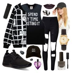 """""""Untitled #245"""" by emilybartlett365 ❤ liked on Polyvore featuring NIKE, Chicnova Fashion, American Apparel, Le Métier de Beauté, Bobbi Brown Cosmetics, Diesel and NARS Cosmetics"""