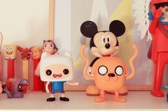 Adventure time POP Finn et Jake – Poulette Magique