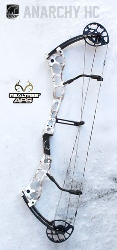New 2014 Bear Archery Anarchy HC Compound Bow Package 70 lbs RH Realtree AP Snow | eBay