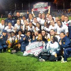 #WVU Women's Soccer wins the 2013 Big 12 Championship | Instagram photo by kszwed