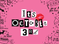 It's October designed by Johnny Q. for Hype Group. Connect with them on Dribbble;