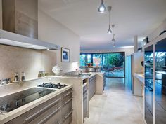#Modern #kitchen in this amazing home in Saint-Raphael, France
