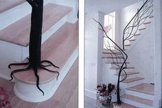 Nontraditional tree railings