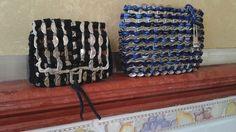Monederos con anillas de refrescos