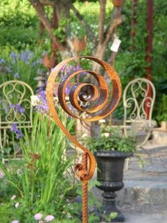Flower Supplies Swirl Rusty garden, # Flower Supplies The Effective Pictures We Offer You About fantasy Garden Art A quality picture can tell you many t