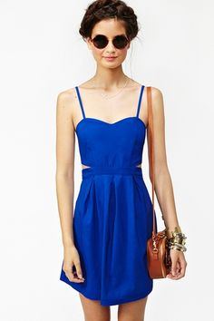 Exposed Cutout Dress