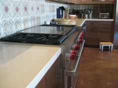 Concrete Countertops U0026 Sinks: Kitchens| Riverbed Concrete