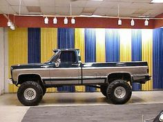 85 Chevy 4x4 Lifted on 35's | Re: Your vehicular history....