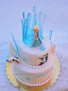 Frozen cake  ,  jégvarázs torta