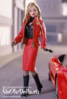 Коллекционная Барби В СТИЛЕ ФЕРРАРИ http://www.asoledolls.ru/product_1065.html Рост: 28 см Стоимость: 6760=