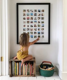 Polaroids in a frame Courtney Adamo, Wall Decor, Room Decor, Wall Art, Kids Room, New Homes, Sweet Home, Instagram, Photo Wall