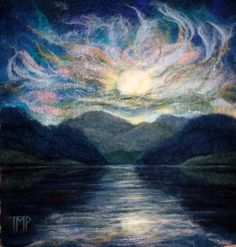 Tracey McCracken Palmer on Felting Landscapes with www.LivingFelt.com/blog – LIVING FELT Blog!