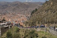 The Inca Empire only lasted about a century. When the Spanish conquistadors arrived, the intricate road made it easier for them to move around and access precious mines that the Incas themselves had been exploiting. Today, families walk from the center of Cusco to a temple site at Sacsayhuaman to celebrate Inti Raymi, the Inca Festival of the Sun.