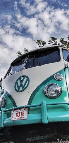 New Vintage Cars Front Ideas Bus Camper, Volkswagen Bus, Vw T1, My Dream Car, Dream Cars, Meister Yoda, Azul Vintage, Kombi Home, Old Vintage Cars