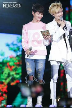Shinee taemin and Mc Onew