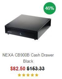 NEXA CB900B Cash Drawer Black