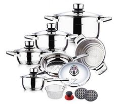 Swiss Hufeisen 16-Piece Premium Cookware Set