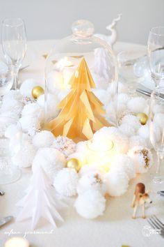 DIY : Pour Noël, ma décoration de table enchantée