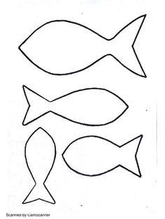Use these fish cut outs to make fishing for feelings games