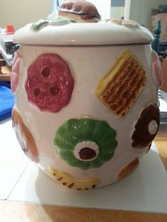 These Cookie Jars Are As Sweet On The Outside As The Cookies They Hold Within! - Dusty Old Thing  -   OMG, I HAVE THIS COOKIE JAR....IT WAS A SHOWER OR WEDDING GIFT IN 1975!!!  I feel soooo OLD!!!