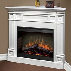 Dimplex Cordele Electric Fireplace Corner Mantel Package Bsp 26 Tdc