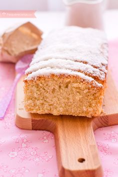 Bizcocho de coco, una receta de bizcocho riquísima Cheesecake Cake, Pan Dulce, Just Cakes, Happy Foods, Dessert Recipes, Desserts, Sweet Bread, Yummy Cakes, Cupcake Cakes