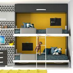 cmo planificar la zona de camas para un dormitorio de dos o ms chicos