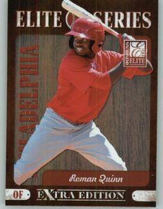 2011 Donruss Elite Extra Edition Elite Series #8 Roman Quinn - Philadelphia Phillies (Baseball Cards) by Donruss Elite Extra Edition Elite Series. $2.99. 2011 Donruss Elite Extra Edition Elite Series #8 Roman Quinn - Philadelphia Phillies (Baseball Cards)