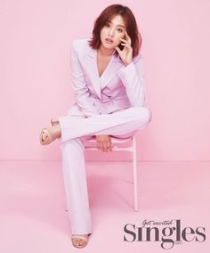 [Photos] Kim Ji-won-I, out of uniform and in all pink @ HanCinema :: The Korean Movie and Drama Database