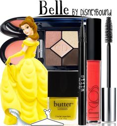 Belle...my dad told me before that I used to watch the Disney movie, Beauty and the Beast, every day when I was little! So yeah this makeup look is perfect for me! <3