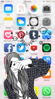 Iphone Lockscreen Wallpaper, Funny Phone Wallpaper, Wallpaper Iphone Disney, Cute Disney Wallpaper, Tumblr Wallpaper, Cute Wallpaper Backgrounds, Cellphone Wallpaper, Cute Cartoon Wallpapers, Pretty Wallpapers