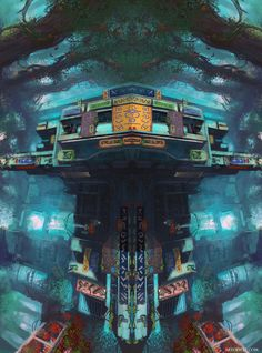 A city for those who found it by W-E-Z.deviantart.com on @deviantART
