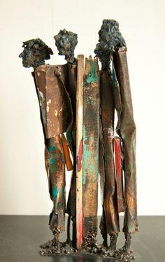 Metal sculptures   by Johan P. Jonsson