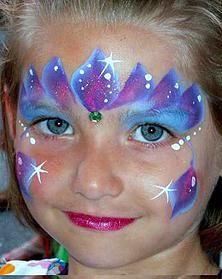 princess face painting