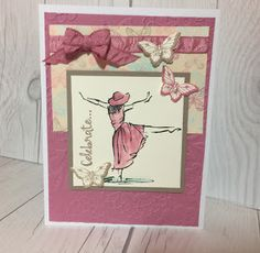 Stampin' Up! Beautiful You stamp set used on this handmade card