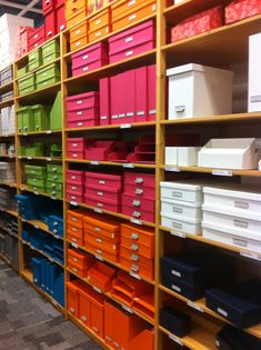 container store - office organization for new closet